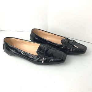 Tods Patent Leather Driving flat Shoes